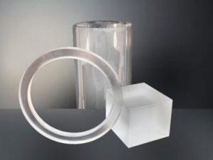 透明石英ガラス