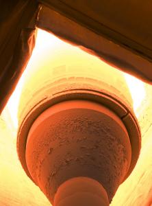 石英ガラス製造過程