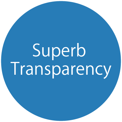 Superb Transparency