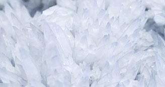 Natural rock crystal