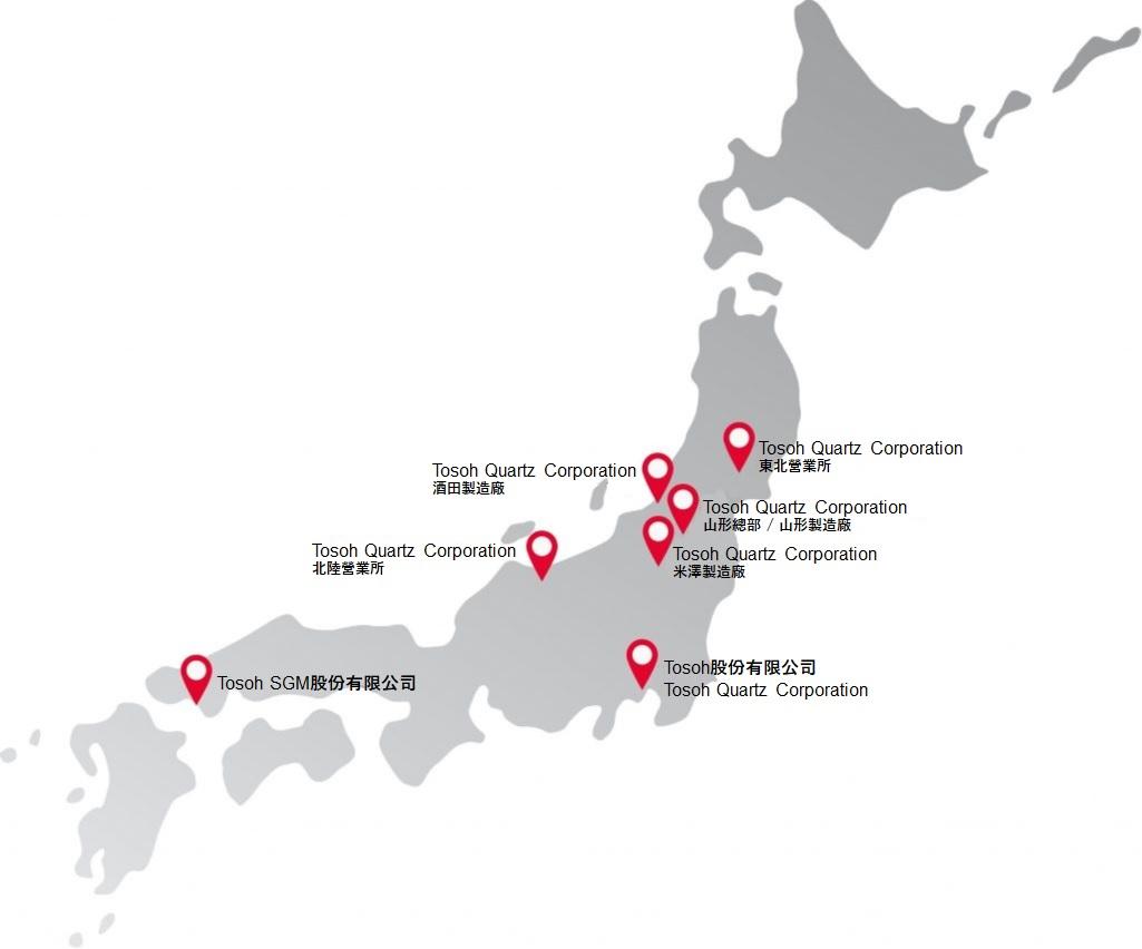 日本國內相關企業